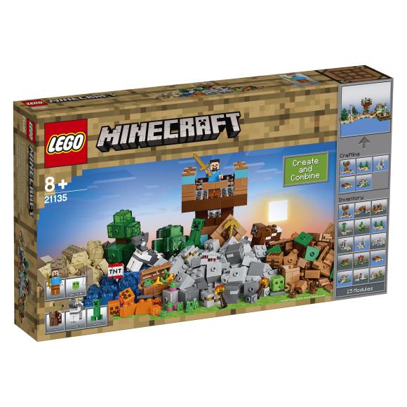 LEGO Minecraft meisterdamisplokk 2.0