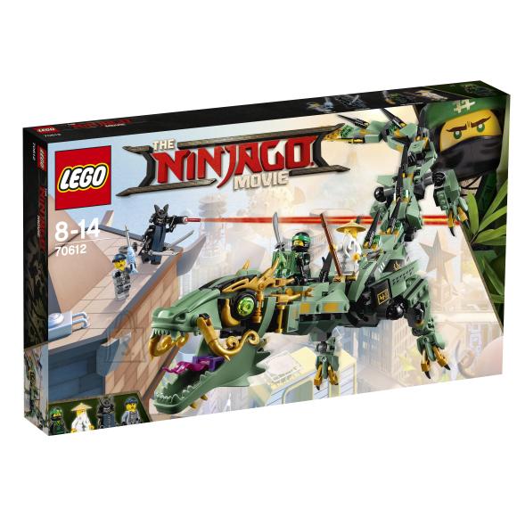 LEGO Ninjago roheline ninjadraakon