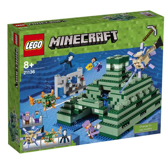 LEGO Minecraft Ookeanimonument 21136