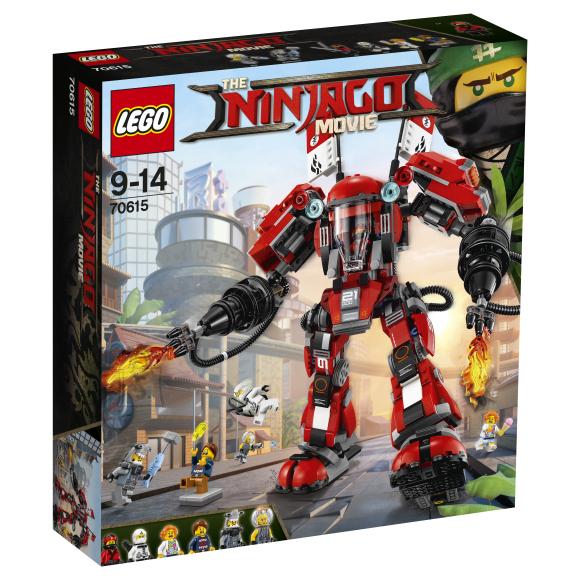 LEGO Ninjago Tulerobot 70516