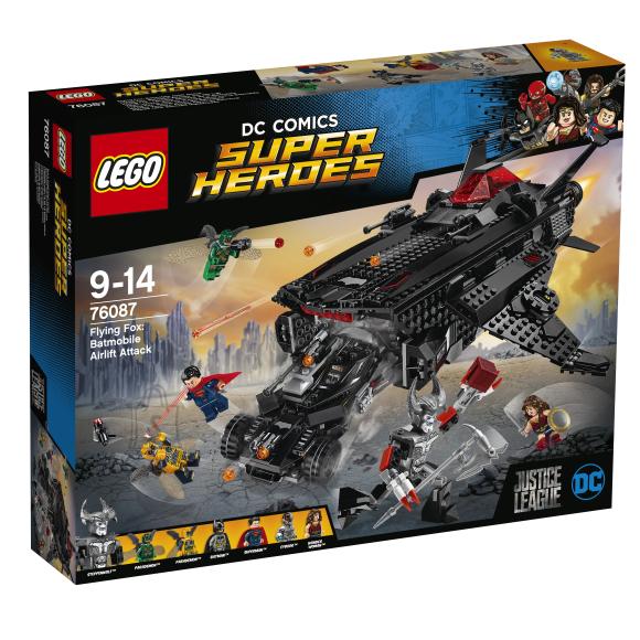 LEGO Super Heroes Flying Fox: Batmobile'i õhurünnak