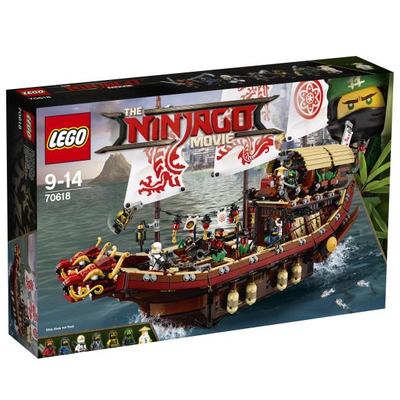 LEGO Ninjago Saatuselaev 70618