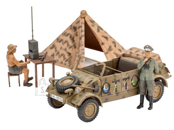 Revell mudelauto German Staff Car Type 82 Kuebelwagen 1:35