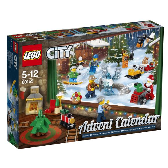 LEGO City advendikalender 60155