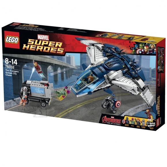 LEGO Super Heroes Avengers Quinjet City tagaajamine