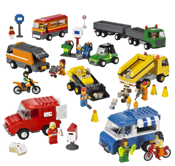LEGO Educational sõidukite komplekt