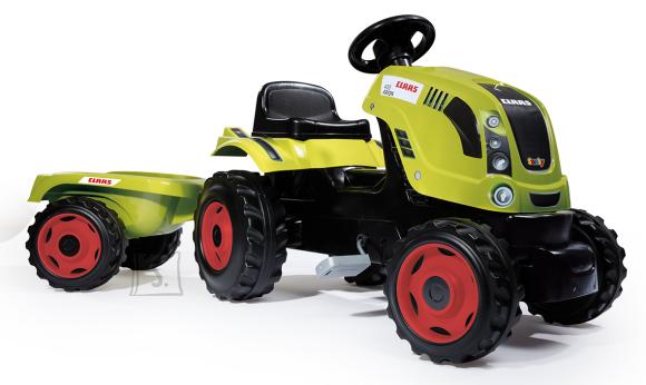 Smoby Smoby traktor Claas Farmer XL +käru