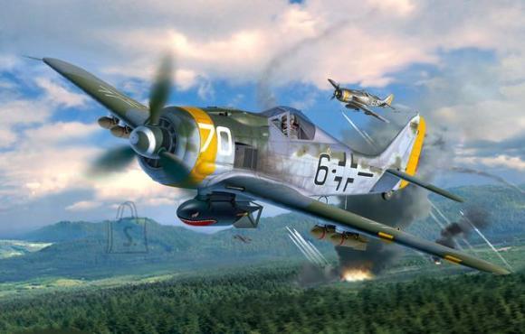 Revell mudellennuk Focke Wulf Fw190 F-8 1:32