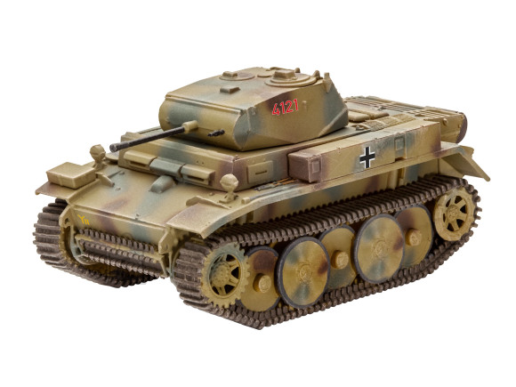 Revell mudeltank PzKpfw II Ausf.L LUCHS (Sd.Kfz.123) 1:72