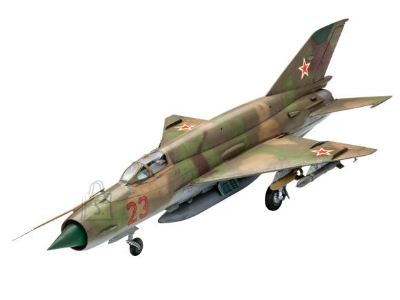Revell mudellennuk MiG-21 SMT 1:48