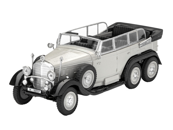 "Revell mudelauto German Staff Car ""G4"" 1:72"