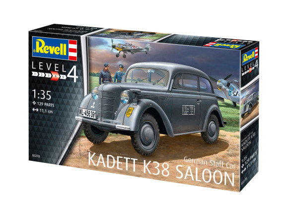 Revell mudelauto German Staff Car Kadett K38 Sal 1:35