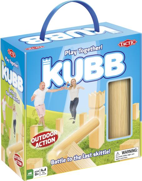 Tactic õuemäng Kubb