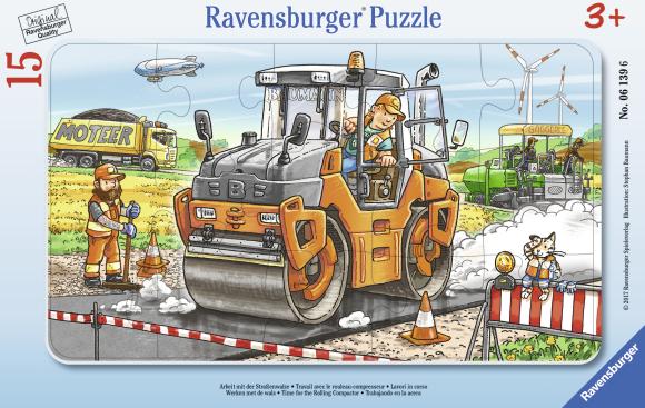 Ravensburger plaatpusle Teetööd 15tk