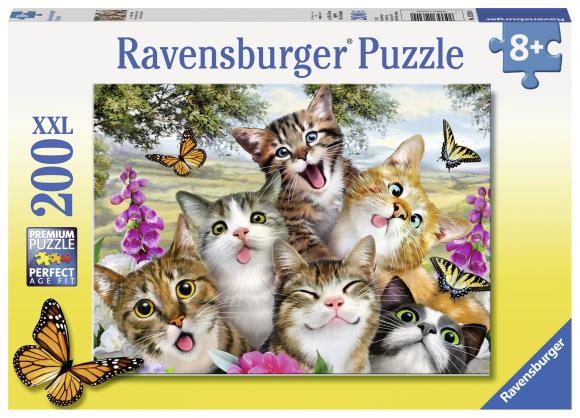 Ravensburger pusle Kiisud 200 XXL tk