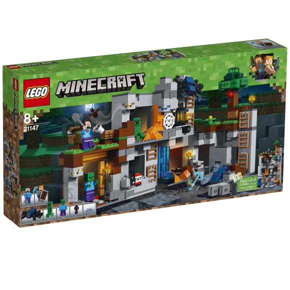 LEGO Minecraft Seiklused aluspõhjas