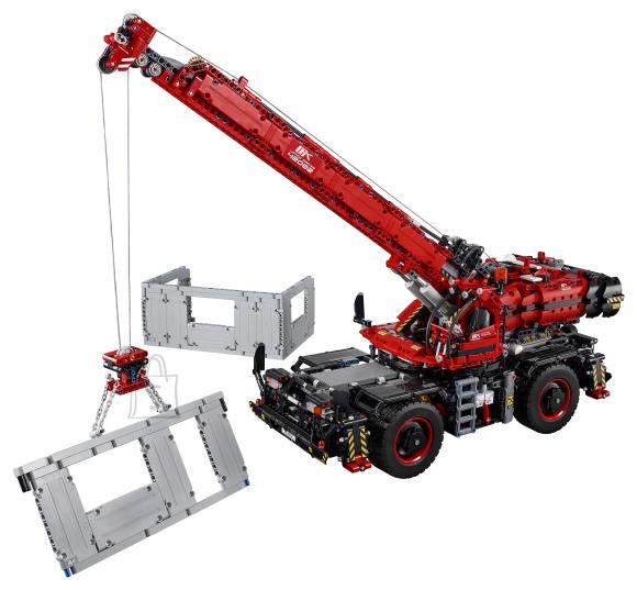 LEGO klotsid Technic Konarliku maastiku kraana
