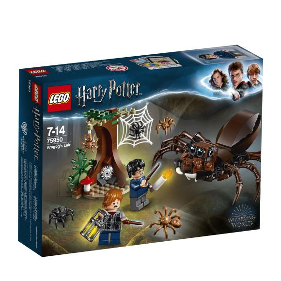 LEGO klotsid Harry Potter Aragogi koobas