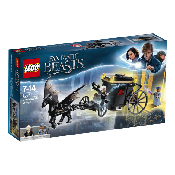 LEGO klotsid Harry Potter Grindelwaldi põgenemine