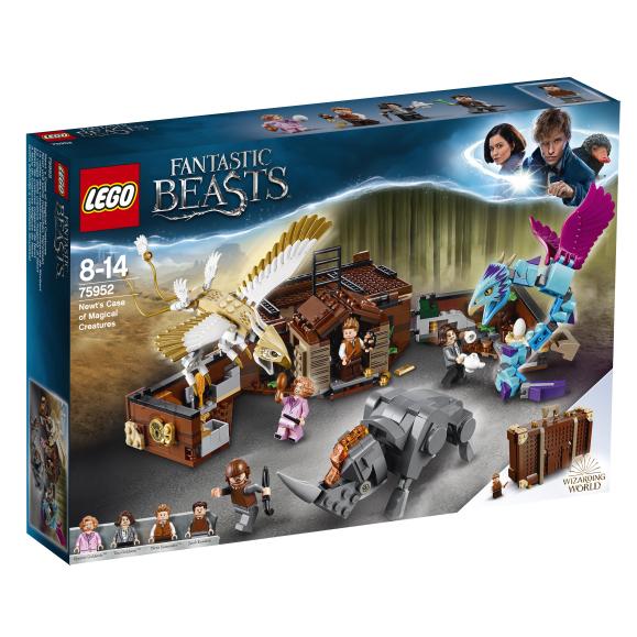 LEGO klotsid Harry Potter Newti maagilised olendid