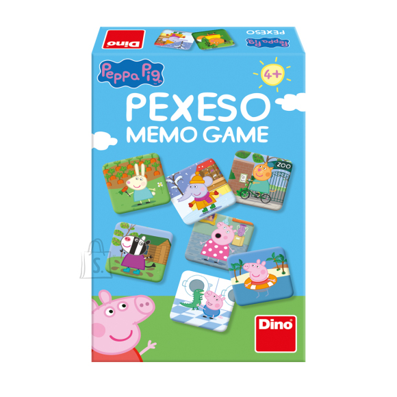 Dino memory Põrsas Peppa