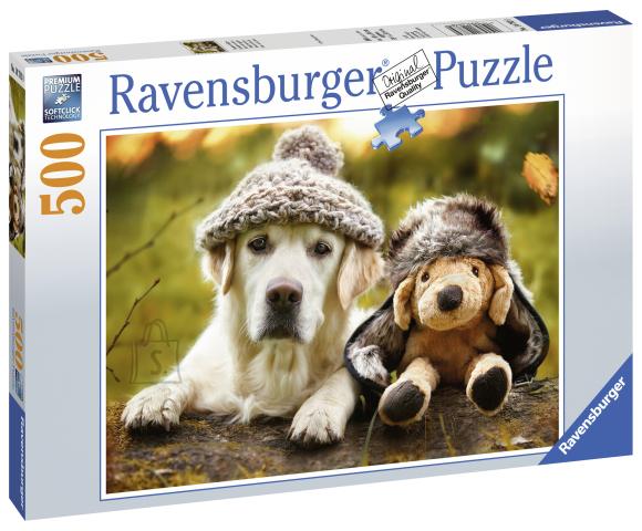 Ravensburger pusle Talvine labrador 500tk