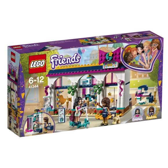 LEGO klotsid Friends Andrea tarvikute pood
