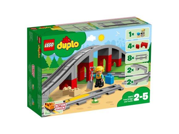LEGO Duplo rongisild ja rööpad