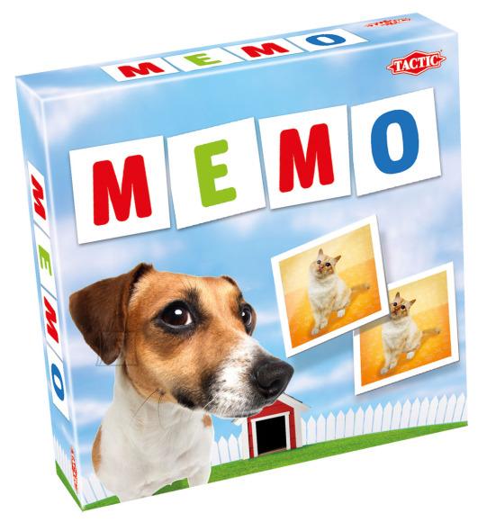 Tactic lauamäng Memo loomad