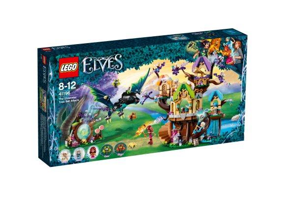 LEGO klotsid Elves Haldjapuu nahkhiire rünnak
