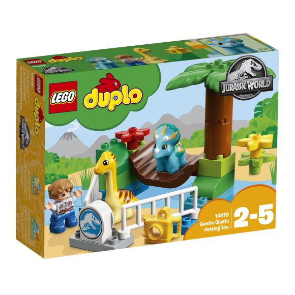 LEGO Duplo klotsid Õrnade hiiglastega laste loomaaed