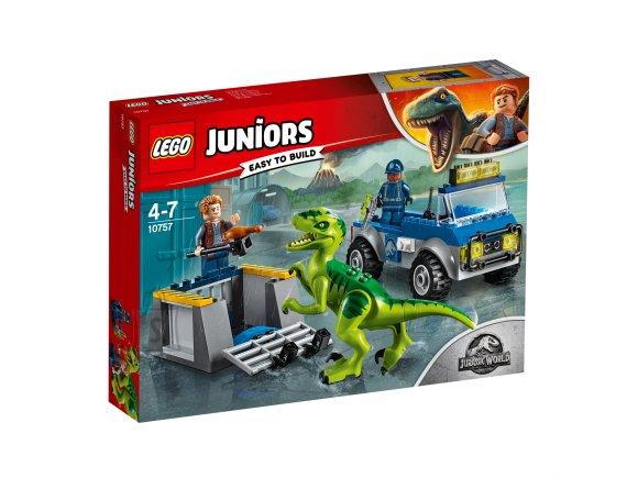 LEGO klotsid Juniors Raptori päästeauto