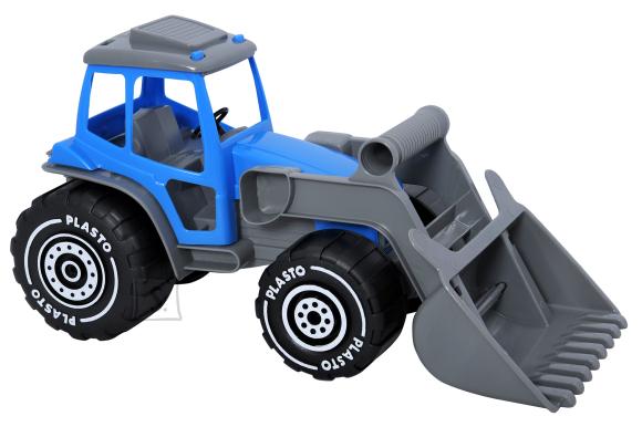 Plasto traktor sahaga