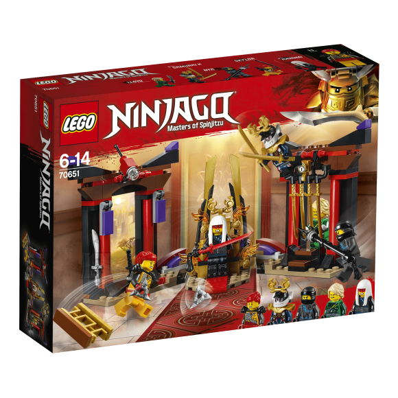 LEGO klotsid Ninjago Vastasseis troonisaalis