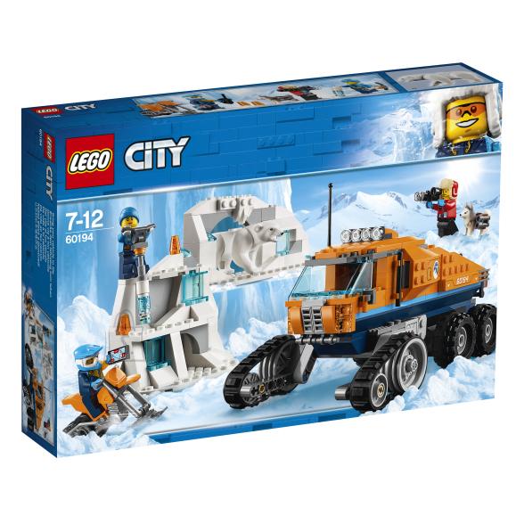 LEGO klotsid City Polaarskaudi veok