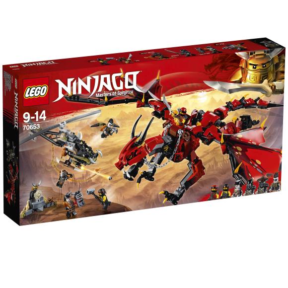 LEGO klotsid Ninjago Esikoletis