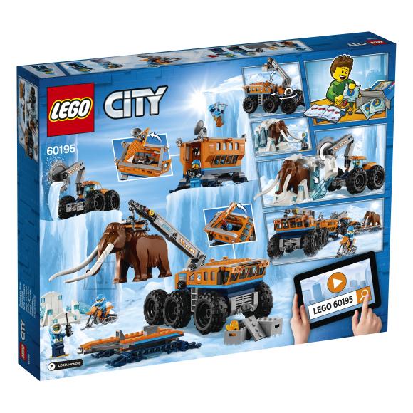 LEGO klotsid City Arktiline uurimisbaas