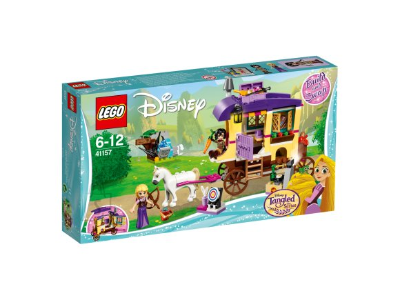 LEGO Disney klotsid Rapuntseli liikuv haagis