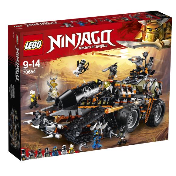 LEGO klotsid Ninjago Diiselnaut