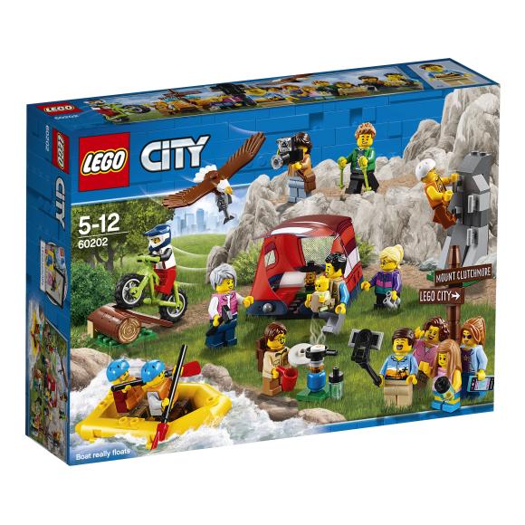 LEGO klotsid City Inimeste komplekt