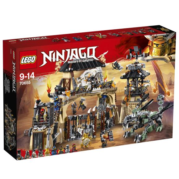 LEGO klotsid Ninjago Draakoni auk