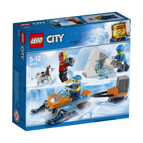 LEGO klotsid City Arktiline uurimismeeskond