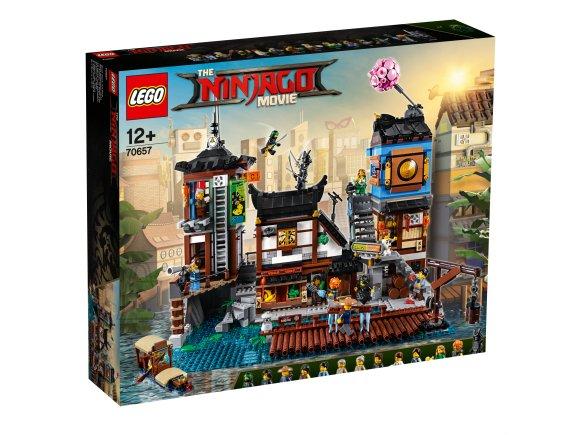 LEGO klotsid Ninjago Linnadokid