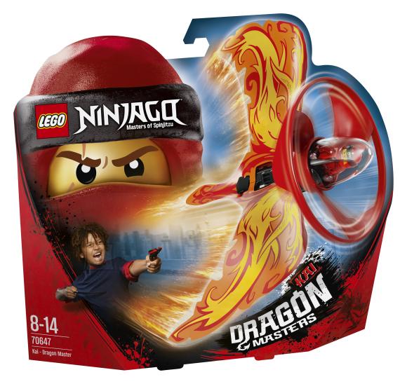 LEGO klotsid Ninjago Kai-draakoni isand