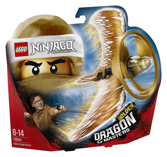 LEGO klotsid Ninjago Kuldne draakoni isand