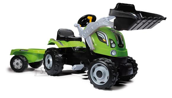 Smoby traktor Farmer MAX + käru