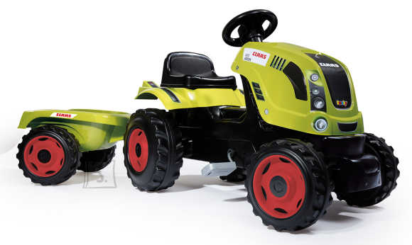 Smoby traktor Claas Farmer XL + käru