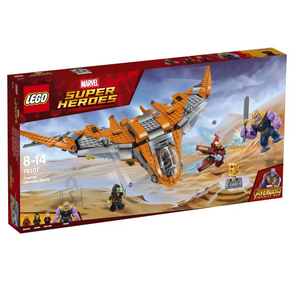 LEGO klotsid Super Heroes Thanos: viimne lahing