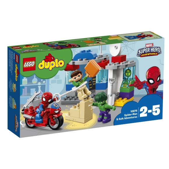 LEGO klotsid Duplo Spider-Mani ja Hulki seiklused
