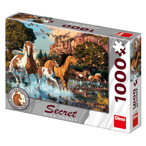 Dino peitepusle Hobused 1000tk